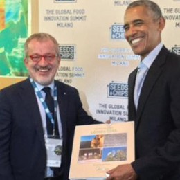 Obama sceglie la Valtellina da addentare