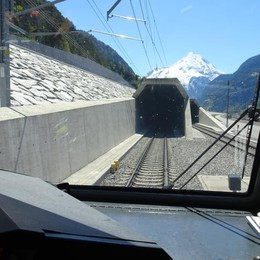 Nuovo tunnel del Gottardo,   +30% di passeggeri in 4 mesi