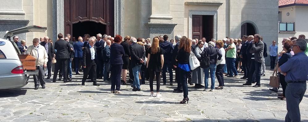 Costa Masnaga, l'addio a Puricelli  «Genio e fedeltà a famiglia e lavoro»