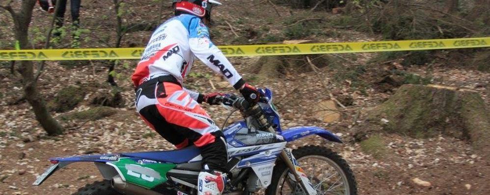 Campionato italiano enduro  Ottimo terzo posto per Crippa
