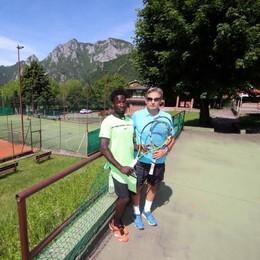 «Io, profugo del Gambia  Rinato grazie al tennis»