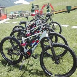 Sui monti in bicicletta, ma senza fatica  Debuttano le due ruote elettriche