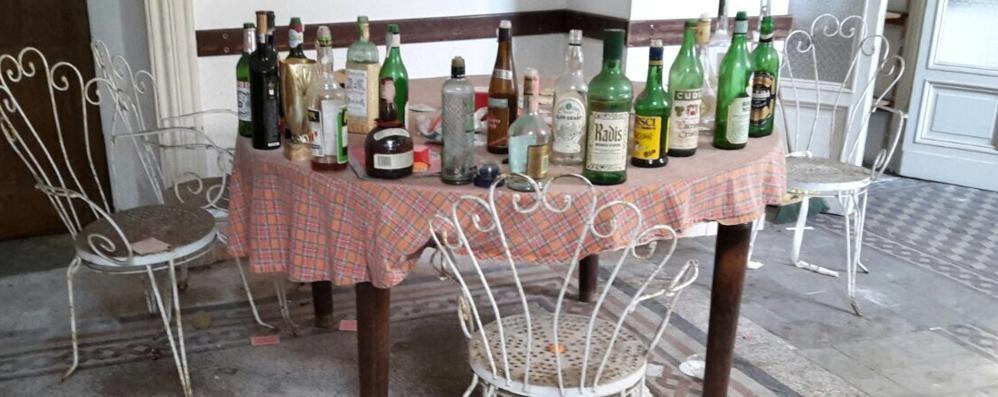 Missaglia, ex Hotel Corona   Undici minori denunciati per vandalismi