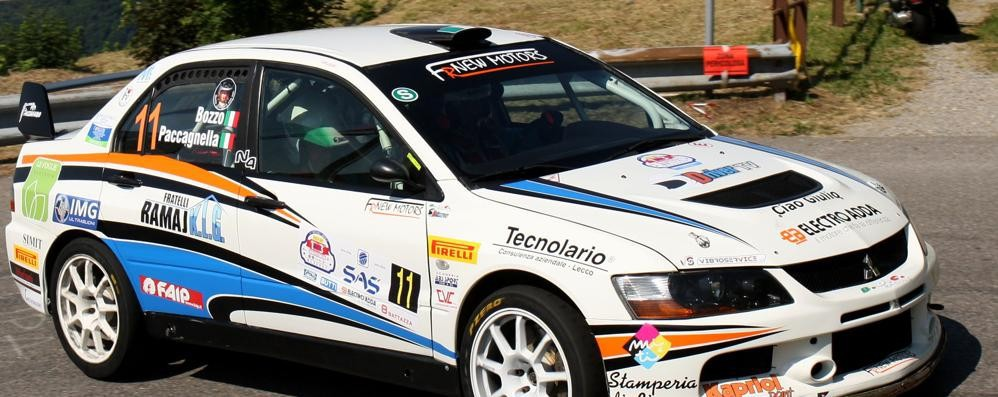 Vittalini fa suo il Rally Aci di Lecco  Paccagnella chiude al terzo posto