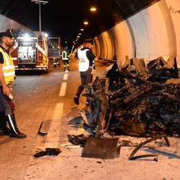 Lierna, incidente in galleria Muore in auto a 59 anni