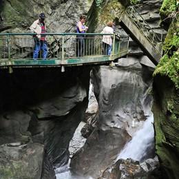 L'Orrido di Bellano ha fatto il pieno   Visitatori a cascata, 25mila presenze