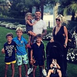 Grand Hotel Tremezzo Vacanza di famiglia per Icardi e Wanda