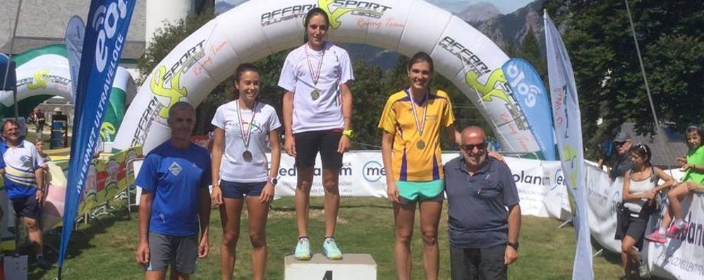 Ai Campionati italiani  Bergamini è seconda