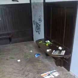 «Basta vandali impuniti a Olcio  Compriamo noi le telecamere»