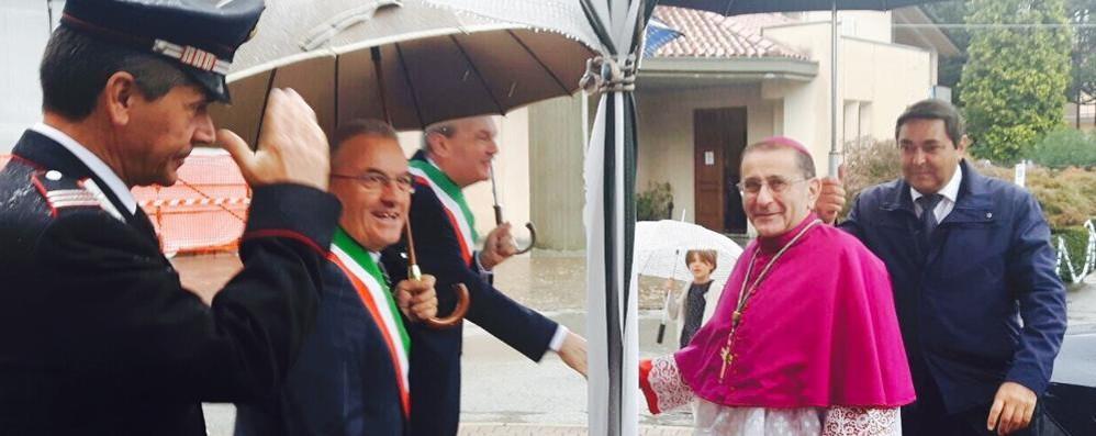 Al santuario di Bevera  prima visita di Delpini  E Scola è a Malgrate