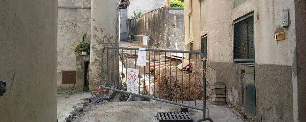 Lavori a San Rocco, in arrivo i rimborsi  per le case danneggiate