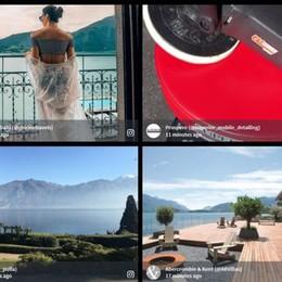 Lecco: turismo  Il lago fa promozione social