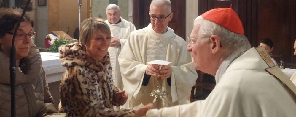 Festa patronale a Lorentino  Scola e il dono della famiglia