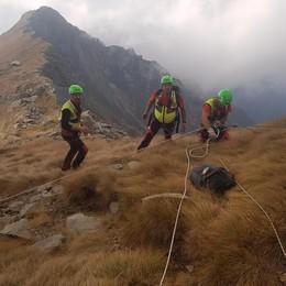 Due feriti in montagna  salvati dal Soccorso alpino