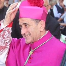 Don Guanella, venticinque anni di servizio  L'arcivescovo  a Cassago
