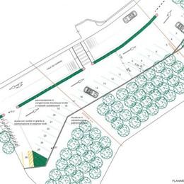 Il posteggio a Malpensata  Progetto da 145mila euro
