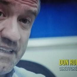 Don Roberto ospite delle Iene  per l'accoglienza ai migranti