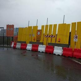 Ponte San Michele, il cantiere scalpita  Ma la pioggia rallenta l'inizio dei lavori