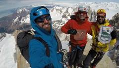 In Patagonia impresa targata Cai Valfuva  Tre aspiranti guide in cima al Fitz Roy
