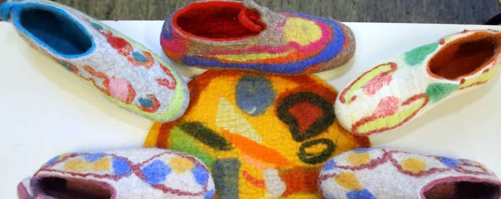 Dalla lana al feltro, un laboratorio  per ricominciare a vivere