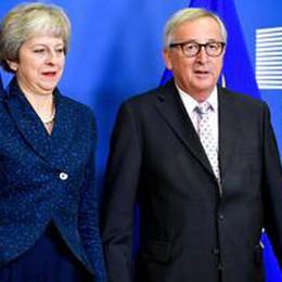 Juncker, accordo raggiunto su Brexit è l'unico possibile