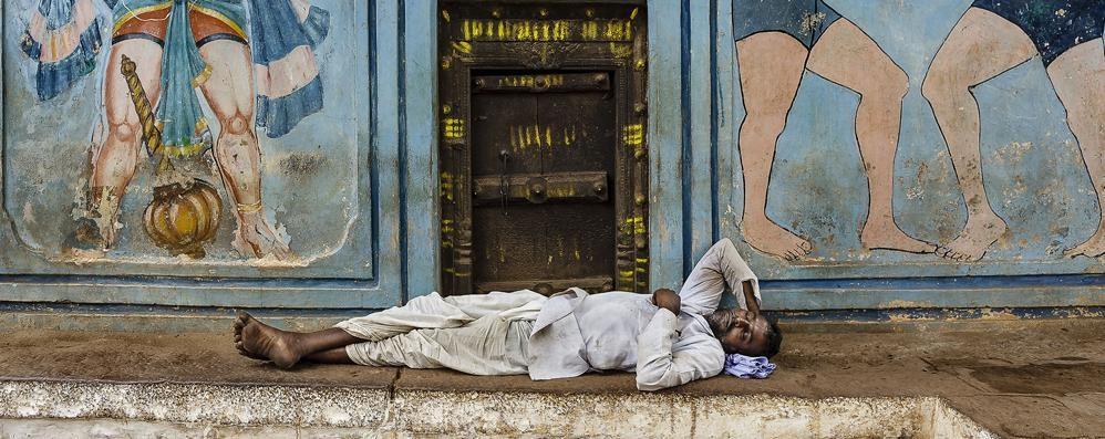 Fotografo olginatese  sul tetto del mondo