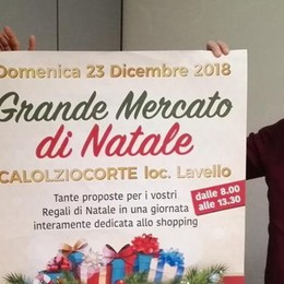 Il mercato del martedì sarà più grande E intanto festa anche prima di Natale