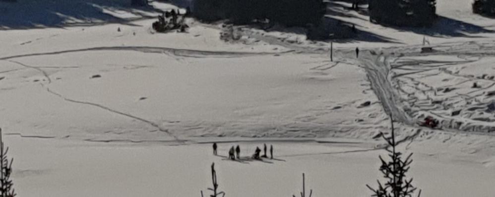 Scomparso a Chiesa, carabinieri subacquei si immergono nel lago Palù