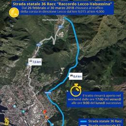 Lecco Lallabio chiusa:   I sindaci: «La valle inascoltata»