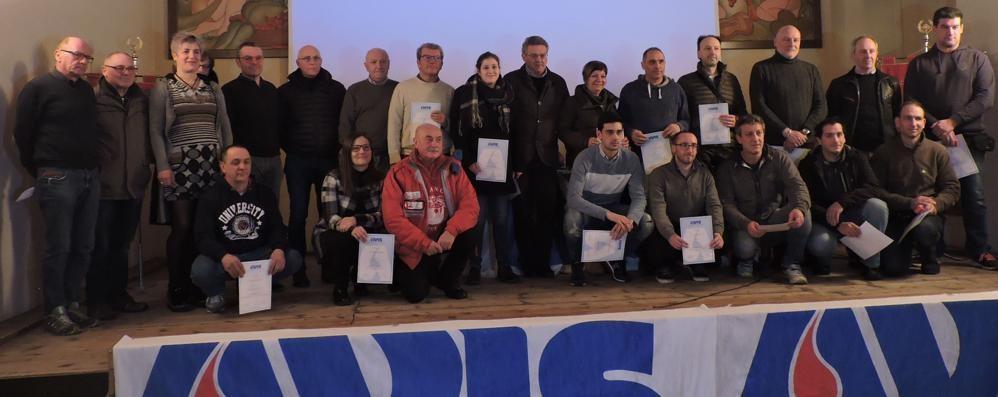 Volontari dell'Avis Valmadrera  Associati in crescita e mille donazioni