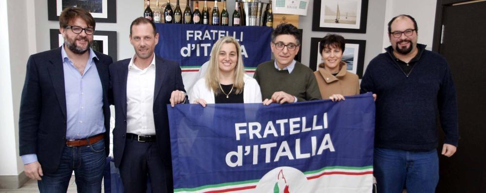 Fratelli d'Italia, quattro candidati  e la benedizione di Alberto Negrini