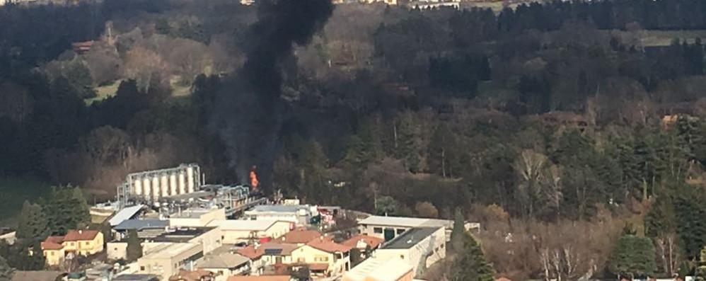 Il sindaco di Bulgaro:  «Nessun pericolo  per la popolazione»   Guarda il video