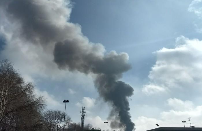 Un'altra immagine dell'incidente