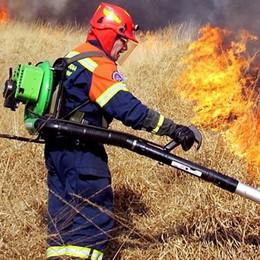 Appello ai sindaci dell'Erbese  «Servono volontari antincendio»