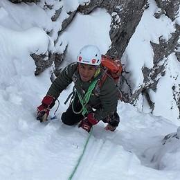 Il sogno di Ronald dalle Ande alle Grigne  «Qui per diventare una guida alpina»