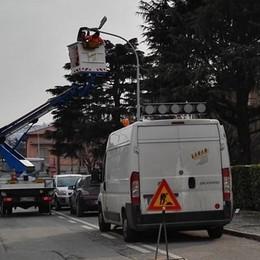 Calolzio, petizione per la luce in strada  «Serve contro i ladri e per la sicurezza»