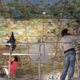 Restauri a villa Cipressi   Stucchi e affreschi verso una nuova vita