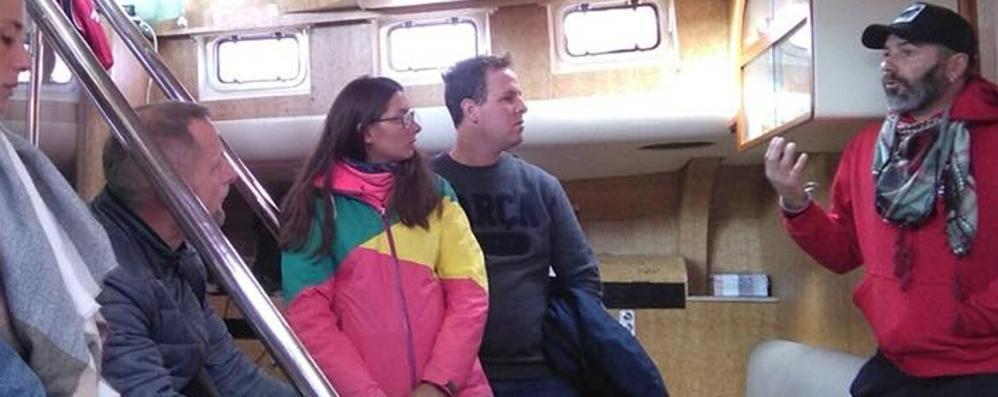 """Sotto sequestro """"La Proactiva""""  Nave Ong del calolziese Gatti"""