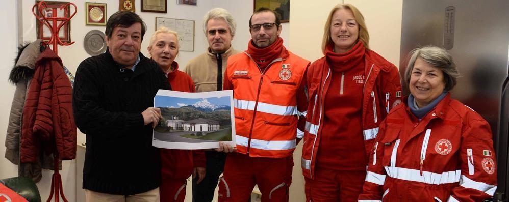 A Colico la nuova sede  della Croce Rossa
