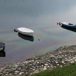 Olginate, il lago è inquinato  Emergenza per una macchia oleosa