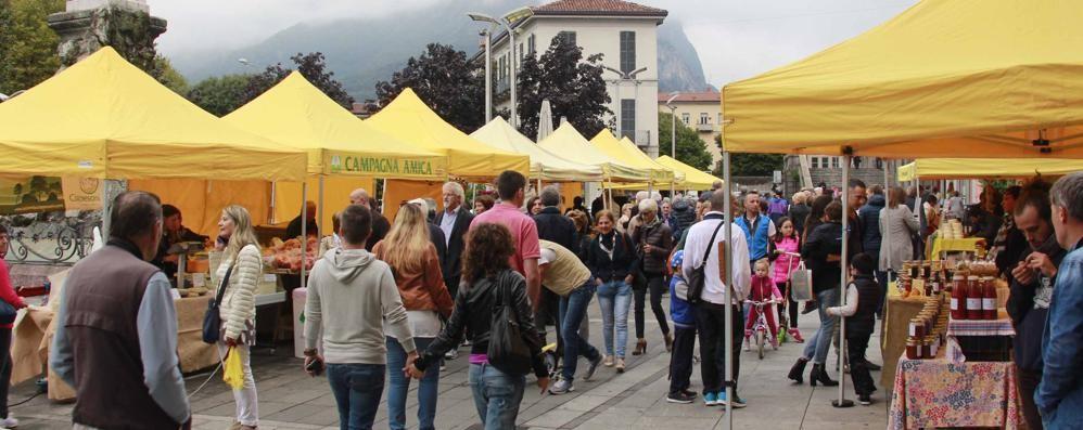 Mandello, mercato agricolo pronto  Coldiretti gestirà i produttori in piazza