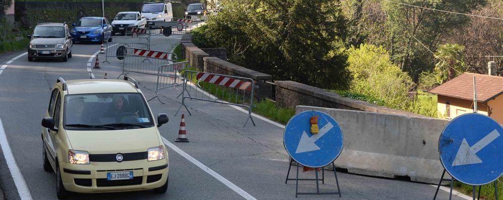 Dervio, senso unico sulla Sp 72  Da aprile cantiere aperto per sei mesi