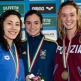 Scalia, oro tricolore nei 50 dorso  Pass per i Campionati europei