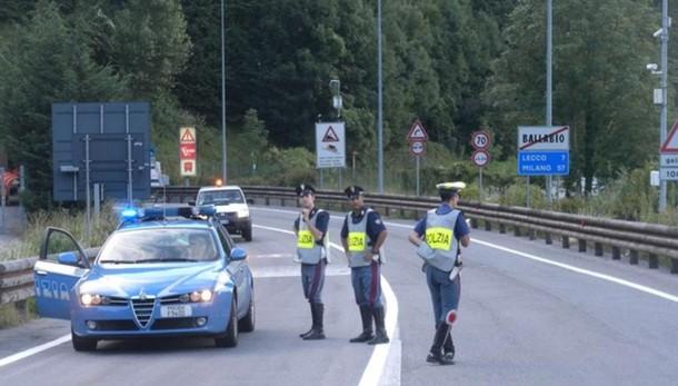 Lecco-Ballabio, incidente nella notte Ventenne in gravi condizioni al Manzoni