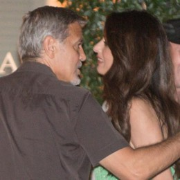 Laglio, è arrivato George Clooney  Ci sono anche Amal e i gemellini