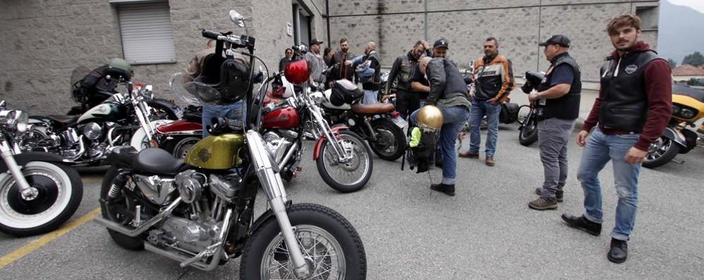 I bikers-giostrai, raduno da tutta Italia  in ricordo di Mauro