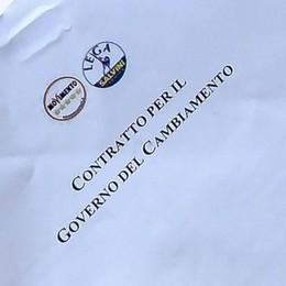 Oggi in regalo con La Provincia  il contratto di governo Lega-M5S