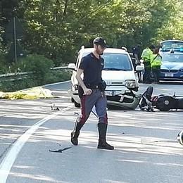 Mortale carambola con due auto  Calolzio, lunedì l'addio al motociclista