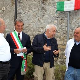 Tremezzina, Guido Abbate   rivive nella piazzetta