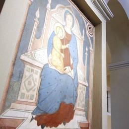 Civate, i restauri degli affreschi  In basilica mostra e presentazione